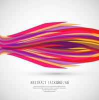 Fond de vague d'affaires coloré moderne vecteur
