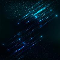 Abstrait bleu brillant de paillettes vecteur