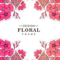 Fond floral beau mariage coloré