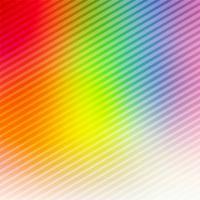 Abstrait coloré de lignes lumineuses vecteur