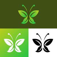 Un arbre unique Logo Elements Vectors