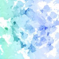 Fond aquarelle abstraite splash vecteur