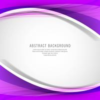 Abstrait vague colorée créative
