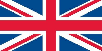 drapeau du royaume-uni officiellement vecteur