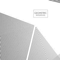 Lignes géométriques fond illustration vecteur
