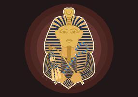 Illustration vectorielle pharaon vecteur