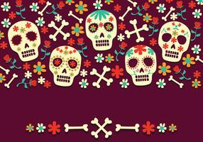 Illustration du jour de la mort vecteur