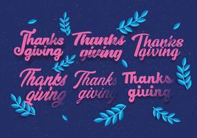 Papercraft Thanksgiving Vol 5 Vecteur