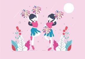 vecteur de pom-pom girls vol 2