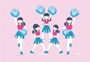 pom-pom girls vol 3 vector