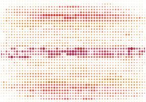 Fond de demi-teintes colorées de vecteur