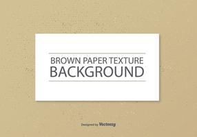 Texture vecteur papier brun