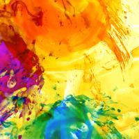 Abstrait aquarelle moderne et coloré vecteur