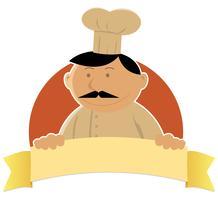 Bannière Cook vecteur