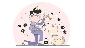 Vecteur vétérinaire