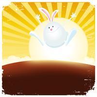 Année du lapin vecteur