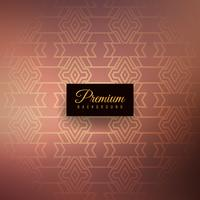 Abstrait premium transparente motif élégant vecteur