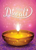 Fond de flyer et affiche du festival de Diwali
