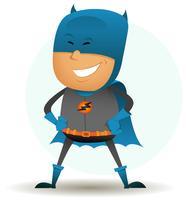 bande dessinée-comique-super-héros-six vecteur