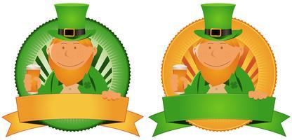 Bannière de la Saint-Patrick vecteur