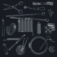 conception d'icône de magasin de tailleur vecteur