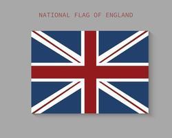 le drapeau national de la conception de vecteur angleterre