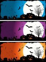 Set d'Halloween vecteur