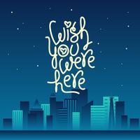 Night City souhaite que vous étiez là Vector