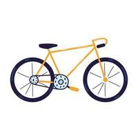 transport sportif à vélo vecteur
