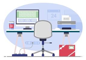Illustration de vecteur Designer Room