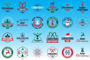 Logo de Noël Vecteur pour bannière