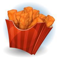 Tranches de poulet à l'intérieur du paquet rouge