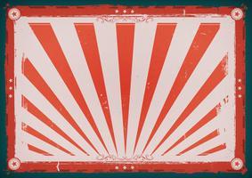Affiche horizontale vintage de la fête de l'indépendance vecteur