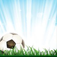 Fond de football vecteur