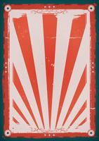 Affiche de fond vintage du quatrième de juillet vecteur