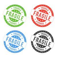 Phoques fragiles vecteur