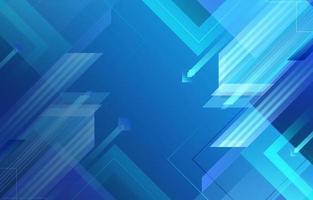 abstrait géométrique dégradé bleu vecteur