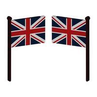 drapeau de la Grande-Bretagne en vecteur