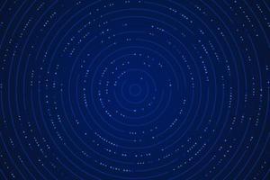 modèle de conception de ligne circulaire de technologie bleu dégradé abstrait avec effet de paillettes. concept futuriste de technologie. illustration vectorielle vecteur
