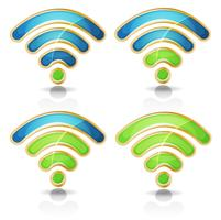 Wifi Icons Set Pour Tablet UI Jeu