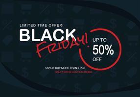 Bannières Black Friday Sale