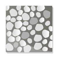 chaussée texture arrière plan topview gris granit vecteur