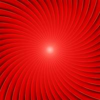 Abstrait Spirale Rouge vecteur