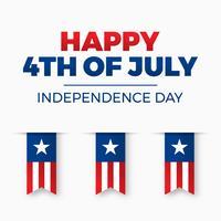 Conception du jour de l'indépendance. Vacances aux Etats-Unis d'Amérique