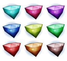 Icônes de pierres précieuses