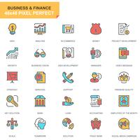 Affaires et finances Icon et