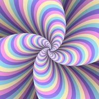 Fond de distorsion pastel multicolore à rayures abstraites vecteur