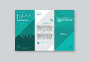 Modèle de brochure professionnelle
