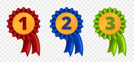 Prix du ruban, trois variantes