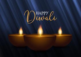 Fond décoratif Diwali
